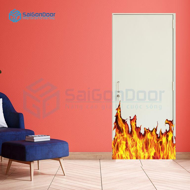 Cửa thoát hiểm cách âm ngăn cháy
