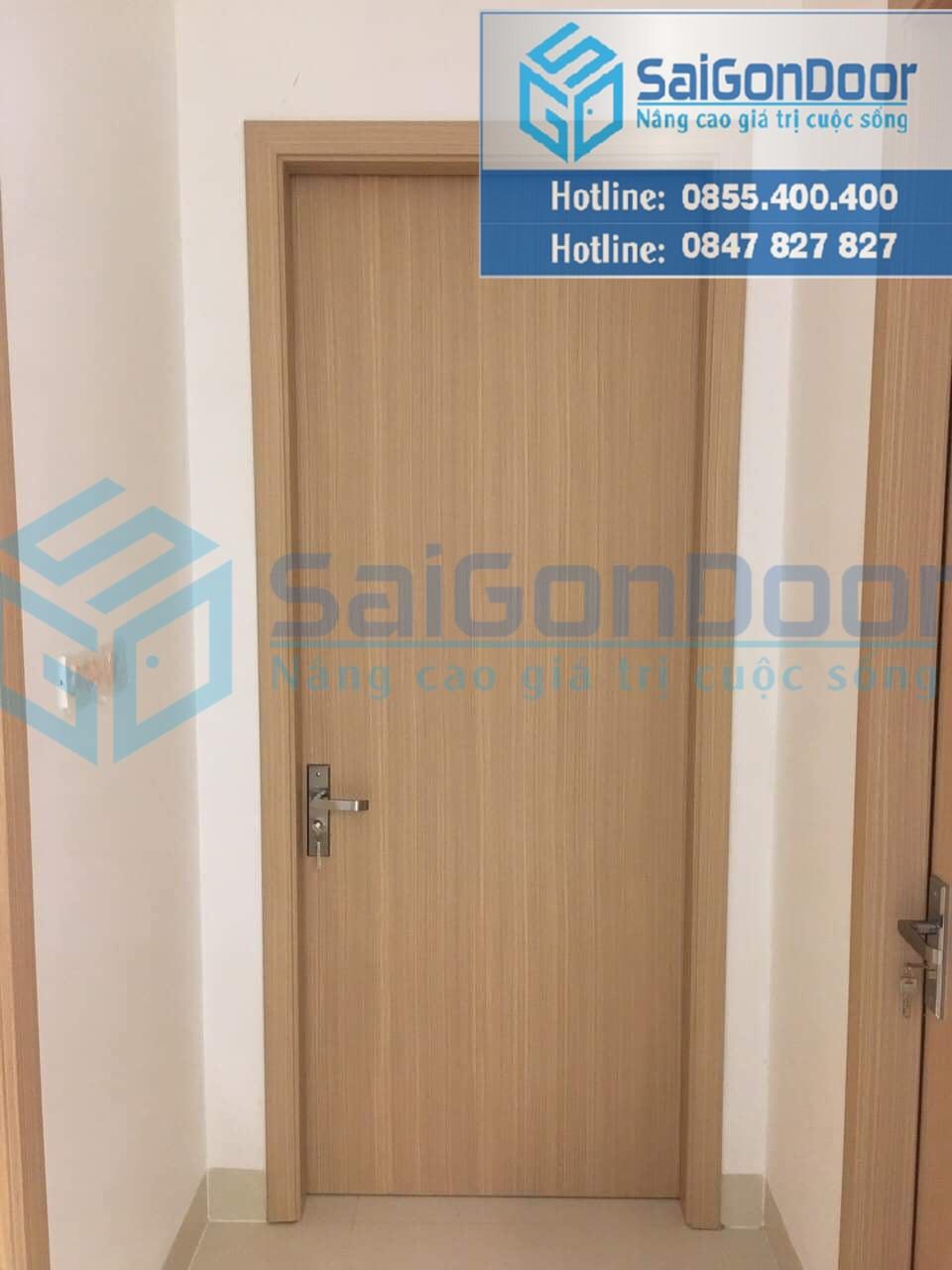 Cửa nhựa gỗ composite là loại cửa nội thất có nhiều ưu điểm và có tính ứng dụng cao